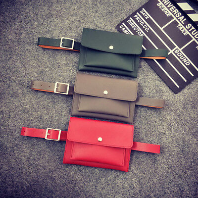 Fashion Ladies Cover Bag Waist Fanny Pack Bum Belt Wallet Pouch Small Bags Hip