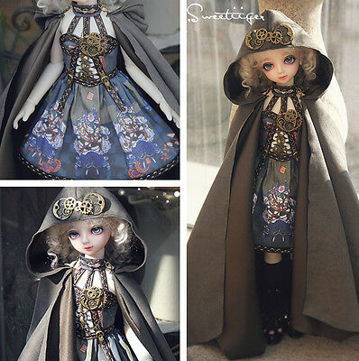 【Tii】Steampunk lolita 1/4 1/3 BJD outfit MSD SD10/13 DD GR Doll Clothes dress