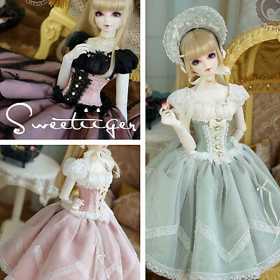 【Tii】Lolita Alice outfit 7 sets BJD 1/3 DD SD16/10/13 GR DZ Doll Clothes dress