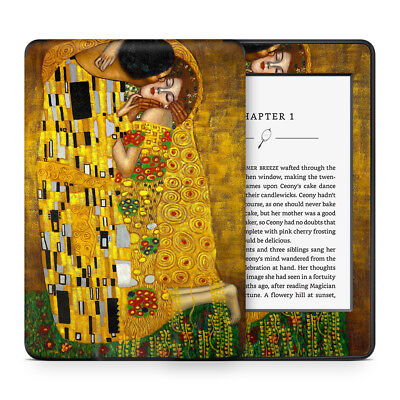 Skin Sticker Wrap to Cover, Protect & Personalise Kindle eReader - Klimt Kiss