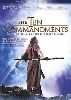 The Ten Commandments - The Complete Miniseries (DVD, 2007)