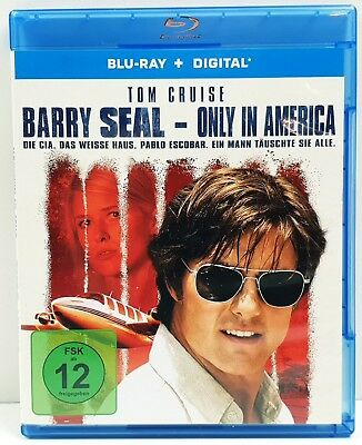 Barry Seal - Only in America | Tom Cruise | Blu-Ray+Digital | Zustand - Sehr gut