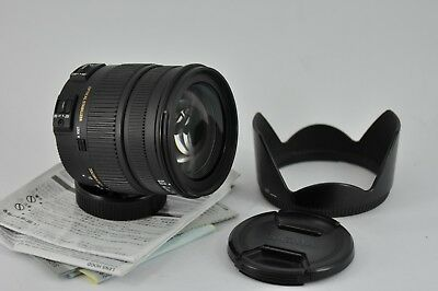 Nikon AF-S fit Sigma DC OS 17-70mm F2.8-4 HSM Macro NEXT TO MINT CONDITION