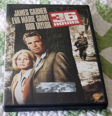 36 Hours (DVD, 2007, Warner Bros) James Garner/Rod Taylor/Eva Marie Saint
