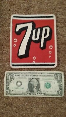 Vintage 7 UP Large Employee Patch 5 by 6