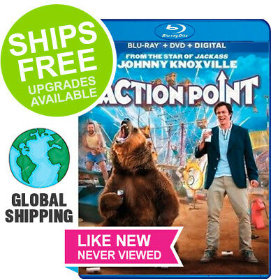 Action Point (Blu-Ray + Case + Slipcover) NO DVD or DIGITAL  ✴NEVER VIEWED✴