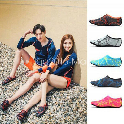Mens Aqua Water Swim Slip On Socks Pool Beach Skin Surf Diving Sport Shoes AU
