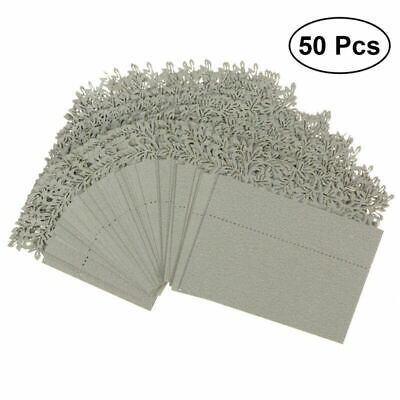50Pcs Place Name Card Wine Glass Wedding Cards Party Birthday Table Decoration