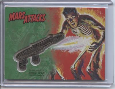 2017 Topps Mars Attacks The Revenge Commemorative Ray Gun Medallion #44/55 CM-BF
