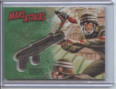 2017 Topps Mars Attacks The Revenge Commemorative Ray Gun Medallion #08/55 CM-SE
