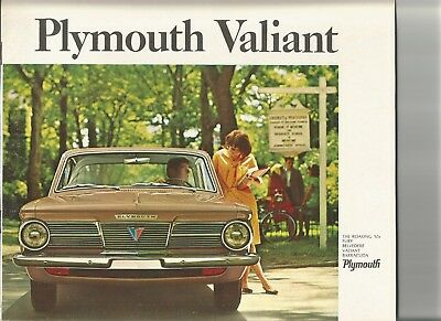 original 1965 Plymouth Valiant sales brochure