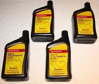 4X Genuine Honda HCF2 CVT TRANSMISSION Fluid 08200-HCF2 ACCORD CIVIC INSIGHT
