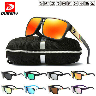 DUBERY Polarized Sunglasses Women&Men Square Cycling Sport Driving Fishing LOT