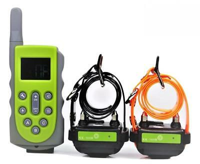 KoolKani 650 Yards Remote Dog Training Collar Obedience Trainer:Rechargeable...