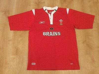 e1a19b997fef WALES HOME RUGBY Shirt