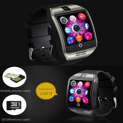 New HOT Bluetooth Smart Wrist Watch Q18 GSM For Samsung HTC Huawei Android Phone