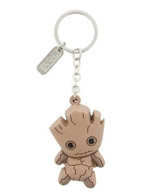 Keychain Marvel Guardians of the Galaxy Groot Rubber 3D Keychain Bioworld