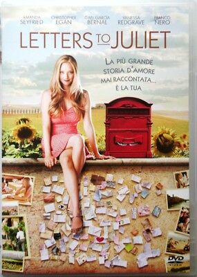 Dvd Letters to Julieta con Amanda Seyfried 2010 Usado