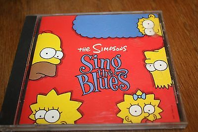 CD The Simpsons Sing The Blues