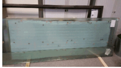 2690 x 900mm 10mm Toughened Glass Panels - Factory Seconds - Clearance