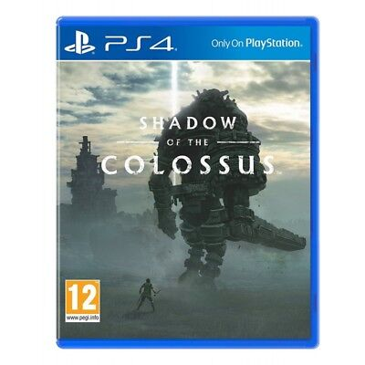 SHADOW OF THE COLOSSUS nuovo PLAYSTATION 4 PS4 italiano