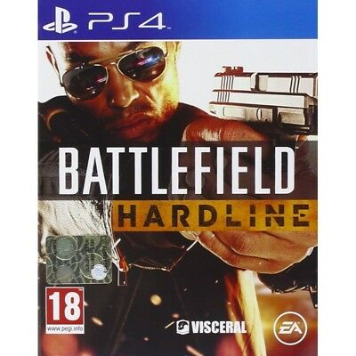 BATTLEFIELD HARDLINE per Sony Playstation 4 PS4 nuovo italiano
