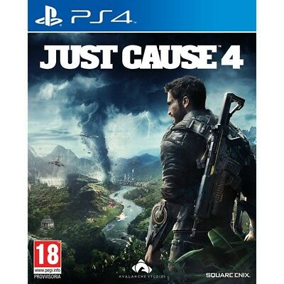 JUST CAUSE 4 per Playstation 4 PS4 nuovo italiano
