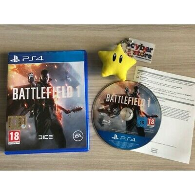 BATTLEFIELD 1 per PS4 Playstation 4 italiano usato garantito