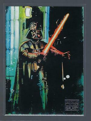 2018 Star Wars Galaxy  #89  DUELING DARTH VADER