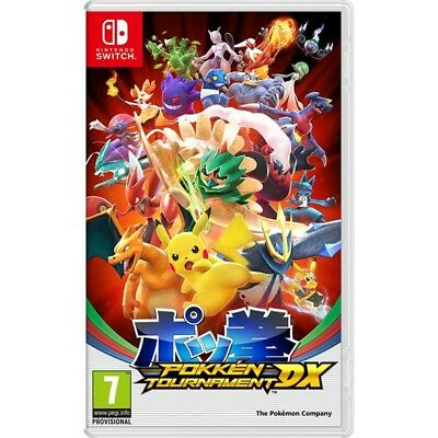 POKKEN TOURNAMENT DX nuovo per Nintendo SWITCH italiano