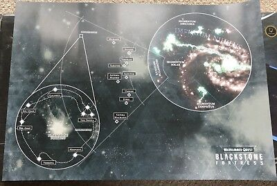 40K Warhammer Quest: Blackstone Fortress - Galaxy Map Large Promotional Poster