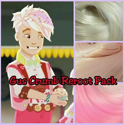Ever After High Gus Crumb for OOAK Custom Boy Doll Reroot Pack Nylon Hair Kit