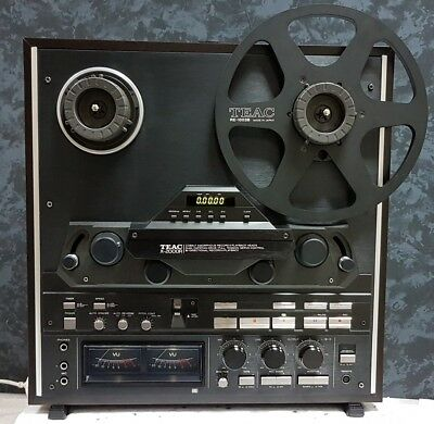 TEAC X-2000R BL Reel-to-Reel Tape Recorder in the box