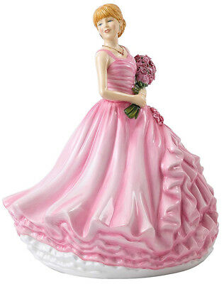 Royal Doulton I Love You Red Rose Language of Flowers Figurine HN 5837 New