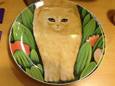 Department 56 Chloe Cat Plate By Martin Leman