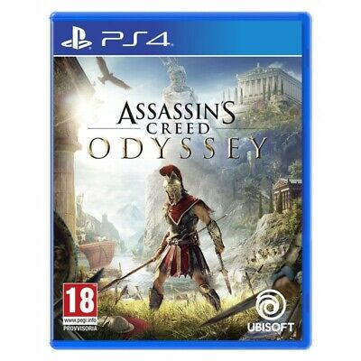 ASSASSIN'S CREED ODYSSEY Playstation 4 PS4 nouveau italien