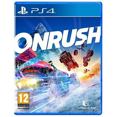 ONRUSH for Playstation 4 PS4 ON RUSH