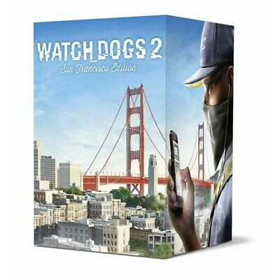 WATCH DOGS 2 SAN FRANCISCO LIMITED EDITION new for XBOX ONE xboxone