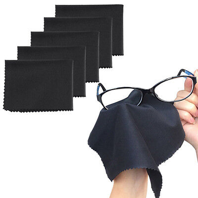 10 Pack Premium Microfiber Cleaning Wipe Cloth Portable for Lens Glasses Screen