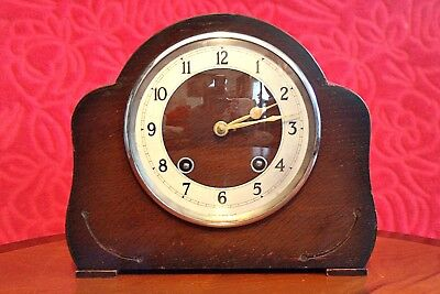 Vintage Art Deco 'GARRARD' Striking Mantel Clock