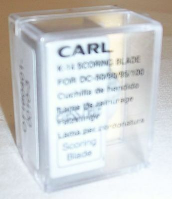 Carl K-14 Scoring Blade for DC-100, DC-95, DC-90, DC-50