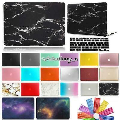 Plastic Hard Case Shell + Keyboard Cover For Apple MacBook White 13 inch A1342