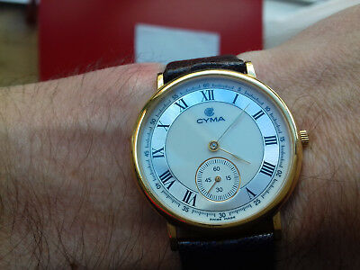 Cyma VINTAGE COLLECTION 5378 NOS MONTRE RELOJ SWISS MADE WATCH UHR LUXURY RARE