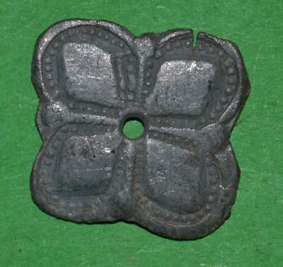 Ancient Celtic Roman Bronze Solar Decoration Amulet - 100/50 Bc
