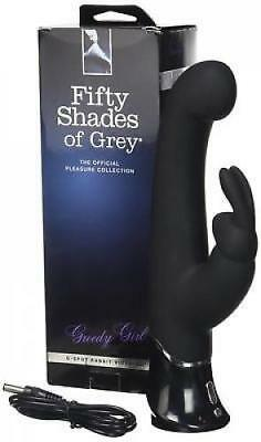 Fifty Shades of Grey Greedy Girl G-Spot Vibe Vibrator Personal Massager Toy New