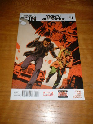 Mighty Avengers 11. Nm Cond. Aug 2014. Ewing / Land.