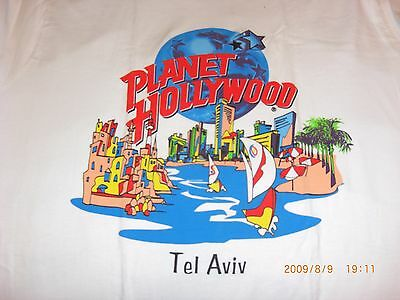 PLANET HOLLYWOOD **NEW** *RARE* TEL-AVIV Special T-Shirt (Large)