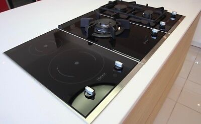Three Neff Domino Hobs 1x Induction 2x Gas Ex Display Never