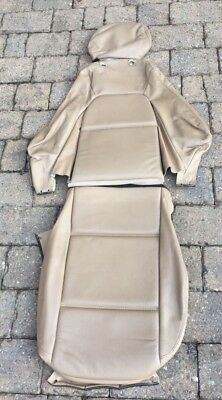 Mazda MX-5 MK2 1997-2001 Driver R/H Mid Tan Leather Seat Cover from Germany