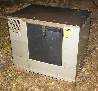 Winco PSS8000 8KW NG or LP standby generator, 112 hours